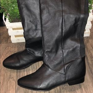 New Chinese Laundry over the knee boots size 8